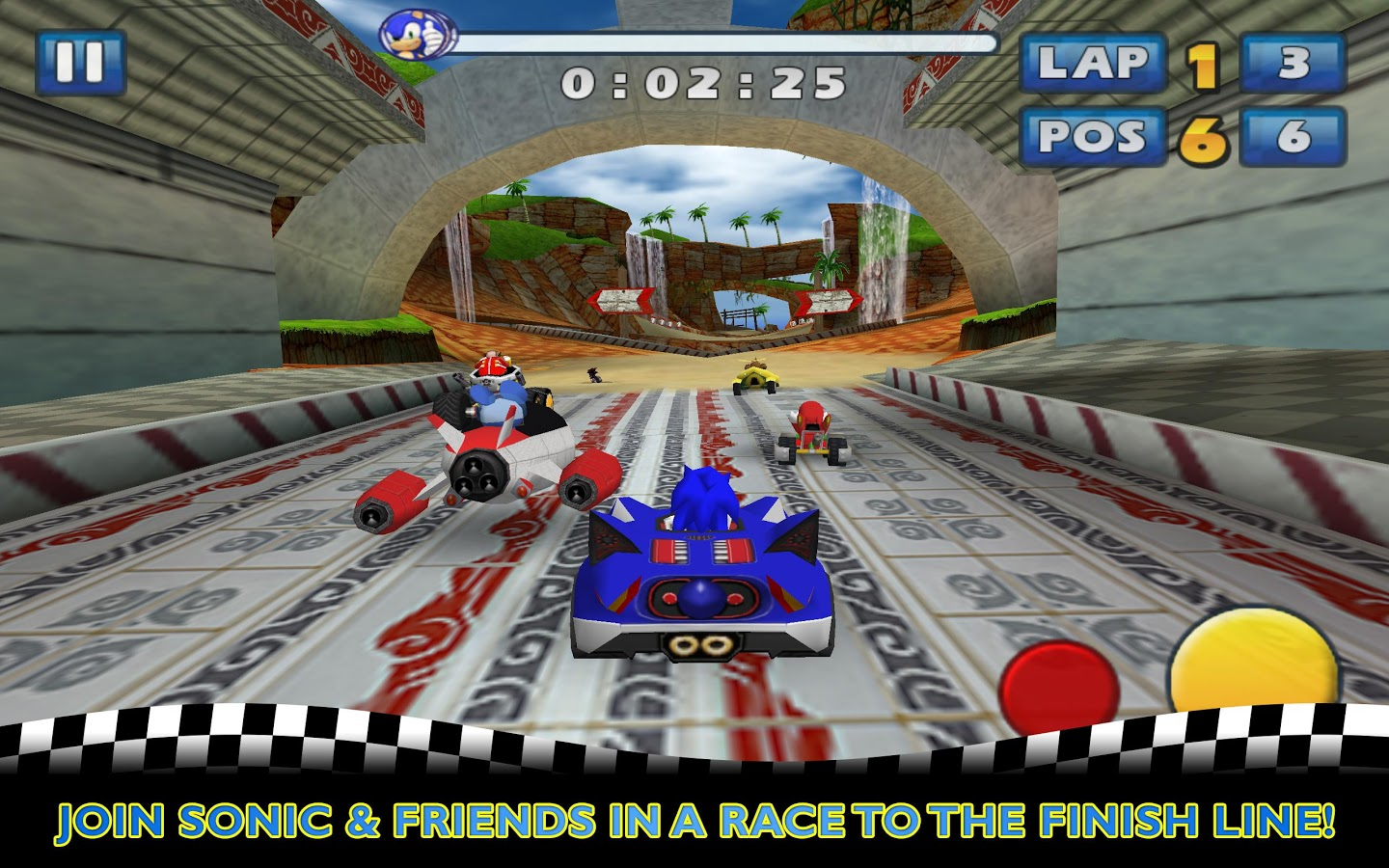 Descargar Sonic & SEGA All-Stars Racing APK gratis