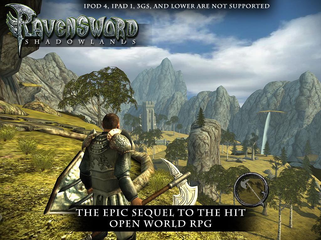 Descargar Ravensword Shadowlands 3d RPG APK